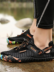 cheap -Men's Comfort Shoes Mesh Spring & Summer / Fall & Winter Preppy Athletic Shoes Water Shoes Waterproof Black / Green / Blue