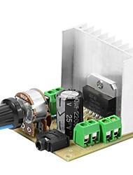 Недорогие -tda7297 цифровая версия платы усилителя мощности 2.0 канальный стерео двойной канал