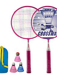 cheap -Y401Badminton Rackets 2pcs Children's kid's Ferroalloy Lightweight / Low Windage / Anti-Slip Indoor Outdoor