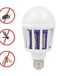 cheap -220V 240V E27 LED Mosquito Killer Lamp 9W 2 In 1 LED Ball Nigh Light Anti Repellent Fly Bug Zapper Insect Killer LED UV Bulb