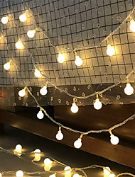 cheap -LED String Lights Battery Ball Lights String Starry Christmas Small Lights Star Lights Net Red Ins Decorative Lights