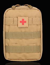 cheap -Oxford Cloth Zipper Emergency Survival Bag Daily Black / Army Green / Khaki