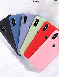 cheap -Case For Xiaomi scene map Redmi Note 8 Note 8 Pro K20 K20 Pro Pure color matte liquid silicone material all-inclusive mobile phone case MH