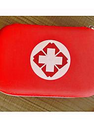 cheap -Nylon Pattern / Print / Zipper Emergency Survival Bag Outdoor Black / Yellow / Red