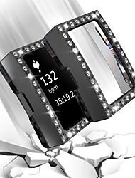 Недорогие -для зарядки FitBit 2 гибкий прочный чехол для ПК ультра полный экран протектор