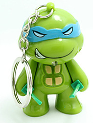 cheap -LED Lighting Novelty Toys Keys Turtle Key Chain Adorable Kawaii ABS Resin Kid's All Toy Gift