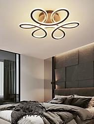 cheap -2-Light 55 cm Geometric Shapes Flush Mount Lights Aluminum Painted Finishes Artistic LED 110-120V 220-240V