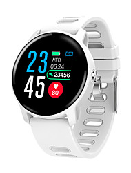 cheap -CARKIRA S08 Men Smartwatch Android iOS Bluetooth Waterproof Touch Screen Heart Rate Monitor Blood Pressure Measurement Sports Stopwatch Pedometer Call Reminder Activity Tracker Sleep Tracker