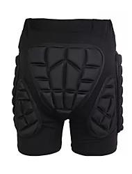 cheap -Impact Shorts for Ski / Snowboard / Ice Skate / Roller Skating Men's / Women's Moisture Wicking / Shockproof / Protection Polyester / EVA 1 Piece Black