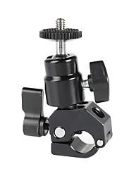 Недорогие -Camvate быстросъемный зажим 15 мм&усилитель; Держатель шариковой головки с 1 / 4-20 винтами (черная ручка блокировки) c2268