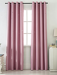 cheap -Gyrohome 1PC Hollow Out Star Shading High Blackout Curtain Drape Window Home Balcony Dec Children Door *Customizable* Living Room Bedroom Dining Room