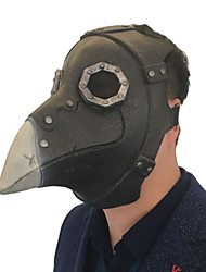 cheap -Plague Doctor Mask Men's Black 1pc / pack Adults Party Basic Fall & Winter