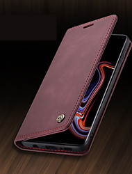 cheap -CaseMe New Business Leather Magnetic Flip Phone Case For Samsung Galaxy S21+ S20 Ultra S10 S9 S8 S10 Plus S9 Plus S8 Plus With Wallet Card Slot Stand Phone Case Cover
