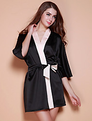 cheap -Women's Chemises & Gowns Nightwear Black S M L