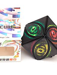 cheap -Speed Cube Set 1 pcs Magic Cube IQ Cube Zcube 4*4*4 Magic Cube Puzzle Cube LED Flash Lighting Adults Kids Toy Gift