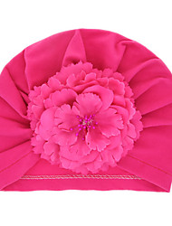 cheap -Kids / Toddler / Newborn Unisex / Boys' Basic / Sweet / Boho Rose Solid Colored Floral Cotton Hats & Caps / Hair Accessories Black / White / Purple One-Size