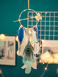 cheap -Simple Ins Nordic Style Dream Catcher Interior Pendant Female Bedroom Pendant To Send Classmates Birthday Gifts