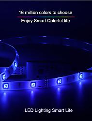 Недорогие -Интеллектуальные огни CL-5050RGB2835WW048HY12-W10-WIFI для Необычные гаджеты для кухни / Гостиная / Спальня Контроль APP / Smart / Светодиодная лампа WIFI 12 V