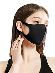 cheap -Sports Mask Pollution Protection Mask Windproof Breathable Cycling Fast Dry Bike / Cycling Black White Sky Blue for Women's Adults' Outdoor Bike / Cycling Recreational Cycling Solid Color 1 Piece