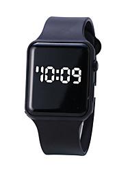 Недорогие -Мужчина женщина электронные часы С автоподзаводом Спортивные Стильные Черный / Белый 30 m Защита от влаги Очаровательный Повседневные часы Цифровой На каждый день На открытом воздухе - Белый Черный