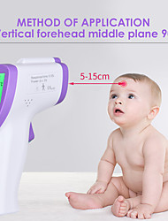cheap -New Digital Thermometer for Baby Non Contact Infared Thermometer Body Temperature Measure 3-Color LCD Backlight Termometro