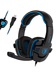 cheap -Sades SA-901 Gaming Headset 7.1 Surround USB Headphone with Microphone for Computer Laptop PC Gamer