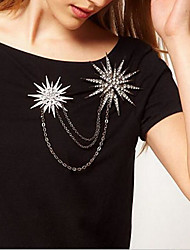 cheap -Women's Brooches Brooch Jewelry Silver For Party Festival