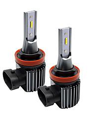 cheap -2pcs H1 / H3 / H7 / H11 / 9005 Super Bright Car Light Bulbs 20 W Integrated LED 2000 lm LED Fog Lights Fanless headlight