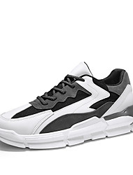 cheap -Men's PU Summer / Spring & Summer Sporty / Casual Athletic Shoes Running Shoes Waterproof Black / Black / Green