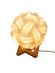 cheap -LED Moon Night Light Weave Rattan Bedroom Bedside Instagram Style Adorable Lovely Decoration for Sleeping USB Staycation