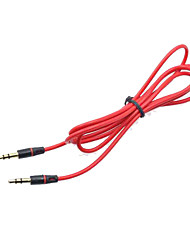 cheap -3.5mm Vehicle AUX Line AUX Audio Link for Vehicle 1.2M AUX Audio for Home Theaters Audio Equipment Soft Texture Cable