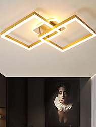 cheap -90 cm Geometric Shapes Flush Mount Lights Aluminum Painted Finishes Artistic LED 110-120V 220-240V