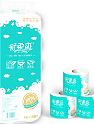 cheap -Ultra Soft Toilet Paper Bulk Size Tissues House Paper Towel 1pack - 10 Mega Rolls