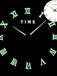 Недорогие -светящиеся настенные часы часы современный дизайн часы настенные цифровые большие большие 3d поделки модные часы