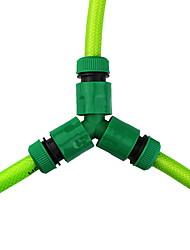 "cheap -2 Way Brass Hose Splitter, 3/4"" ABS Hose Connectors, Y Connector Garden Hose Adapter"
