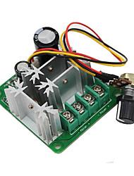 cheap -15A 6V-90V Pulse Width Modulator PWM Stepless DC Motor Speed Controller
