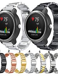 cheap -For Garmin move3/vivomove Luxe /vivomove Style/ Venu/ vivoactive3 / Vivoactive3 music/ Vivomove /Forerunner245 645 Metal Smart Watch Band Strap Stainless Steel