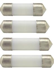 cheap -2PCS C5W LED Car Festoon Dome Lamp 24V DC 31mm 36mm 39mm 41mm LED Reading Instrument Interior Light White Warm Whtie
