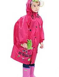 Недорогие -Дети (1-4 лет) Девочки Классический С принтом Тренч Желтый
