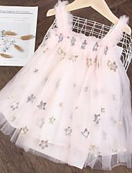 cheap -Kids Girls' Galaxy Animal Above Knee Dress Blushing Pink