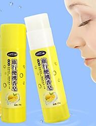 cheap -Portable Soap Hand Washing Body Care Antibacterial Lemon Aroma Creative Glue Stick Shaped Outdoor Travel Camping-5pcs