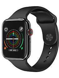 cheap -F18 Smartwatch for Apple/ Samsung/ Android Phones, Bluetooth Fitness Tracker Support Heart Rate Monitoring