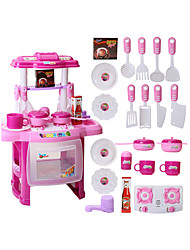 cheap -Toy Kitchen Set Toy Food / Play Food Pretend Play PVC(PolyVinyl Chloride) Kid's Boys' Girls' Toy Gift