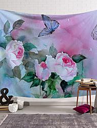 Недорогие -5 размеров красивый природный лес напечатан большой настенный гобелен дешевые хиппи на стене богемные гобелены мандала wall art decor