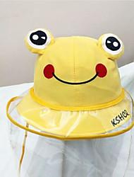 cheap -1pcs Toddler Unisex Cartoon Hats & Caps Yellow / Blushing Pink / Orange One-Size