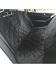 cheap -Dog Cat Pets Carrier Bag & Travel Backpack Car Seat Cover Waterproof Portable Multi layer Pet Mats & Pads Fabric Oxford Fabric Solid Colored Classic Brown Black / Foldable