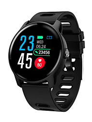 cheap -WAZA S08 IP68 Waterproof Dial Face Change Wristband Blood Pressure and Oxygen Monitor Sport Tracker Smart Watch