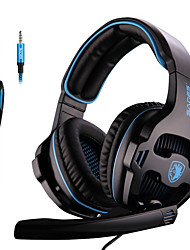cheap -SADES SA-810 3.5mm Stereo Gaming Headset Headphones Multi-platform For PS4 Xbox One PC Mac Laptop Phone