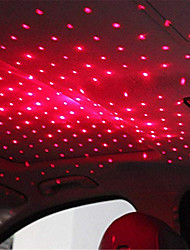 Недорогие -Мини светодиодный автомобиль крыша звезда ночник usb декоративная лампа проектор регулируемая атмосфера домашнего потолка декор свет (стиль подсветки)