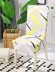 cheap -Art Ink Print Very Soft Chair Cover Stretch Removable Washable Dining Room Chair Protector Slipcovers Home Decor Dining Room Seat Cover
